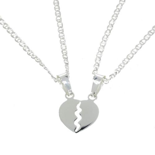 Serce na Walentynki srebrne 925 dla zakochanych