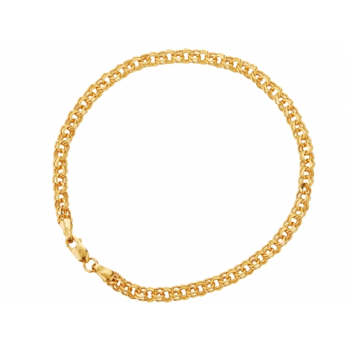 Bransoletka złota GARIBALDI