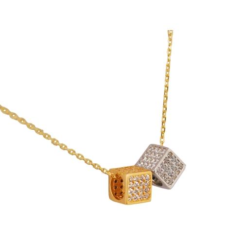 Łańcuszek złoty CELEBRYTKA kostki