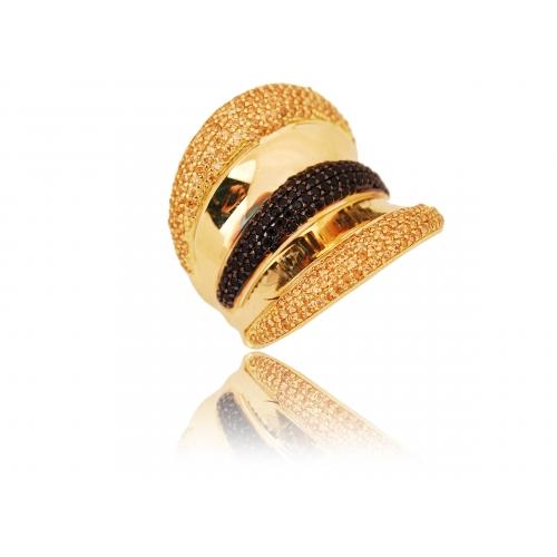 Pierścionek złoty Swarovski