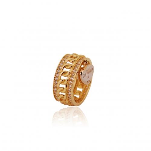 Brylantowy komplet 585 białe i żółte złoto