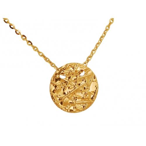 Łańcuszek złoty CELEBRYTKA kółko
