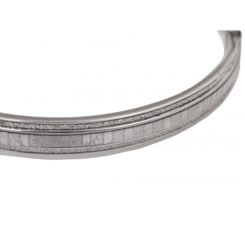 Bransoletka srebrna owal