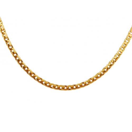 Łańcuszek złoty PANCERKA