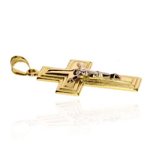 Pierścionek złoty 585 Swarovski