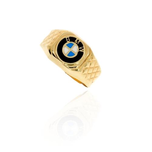 Sygnet męski 585 BMW