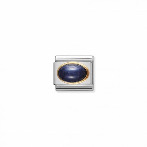 Link NOMINATION kamień szafir owal