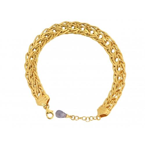 Bransoletka złota duża