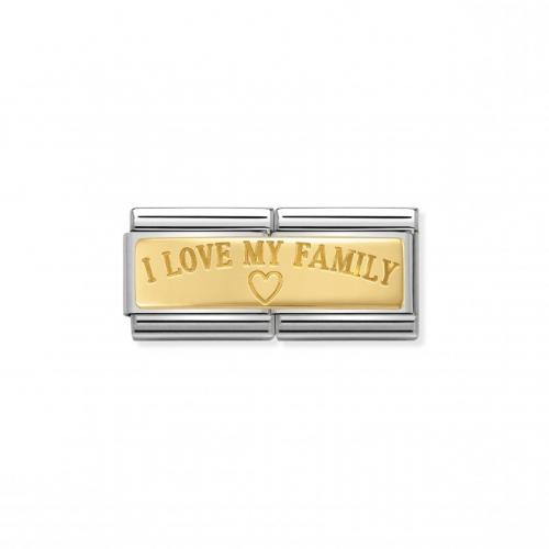 Link NOMINATION Double I love my family serce