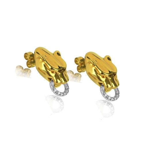 Kolczyki złote PUMA