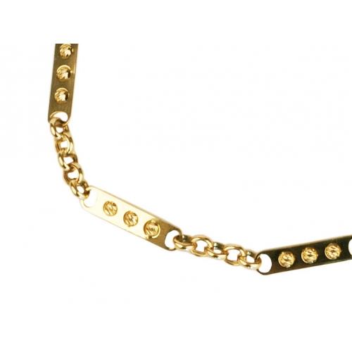 Bransoletka złota