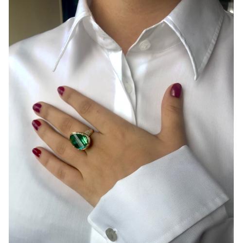 """""""Costa Smeralda"""" pierścionek 585 HIT"""
