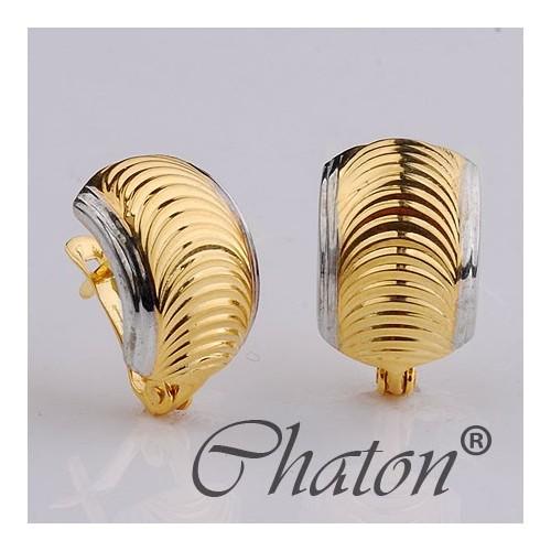 Kolczyki złote delikatne na prezent