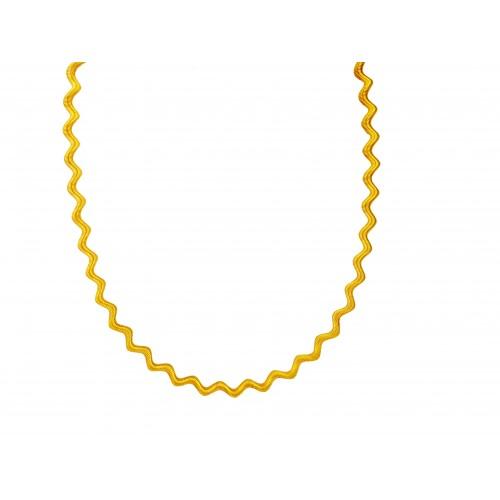 Naszyjnik złoty sprężynka