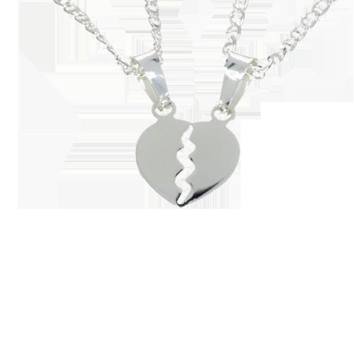 Wisiorki srebrne